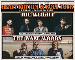 the weight the wake woods live tour frankfurt burghof heavy rhytm roll